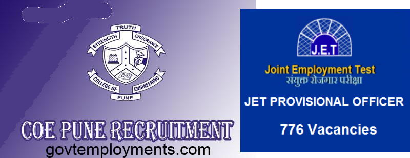 COE Pune Recruitment 2020, 114 Faculty Vacancies, Apply Online @ www.coep.org.in