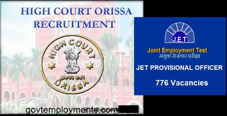 orrisa high court recruitment