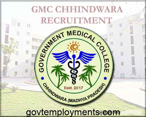 GMC Chhindwara Recruitment 2020, Apply for 106 Ward Boy & Other Vacancies @ govtmedicalcollegechhindwara.com