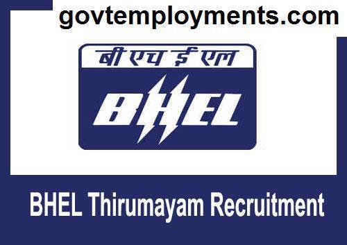 BHEL Thirumayam Recruitment 2020, Apply for Apprentice Vacancies @ trichy.bhel.com