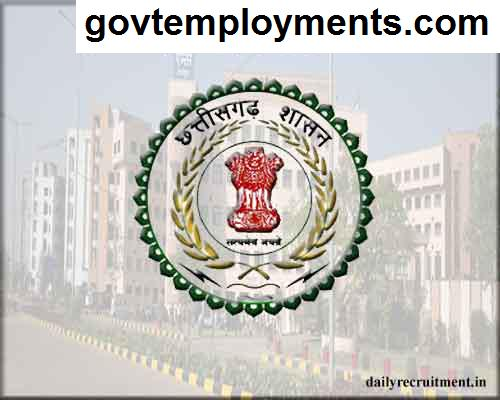 CMHO Raipur Recruitment 2020, Apply Online for 85 Staff Nurse & Other Vacancies @ raipur.gov.in