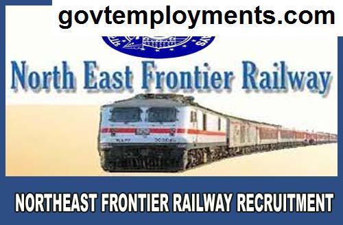 Northeast Frontier Railway Recruitment 2020, Apply for 4499 Apprentice Vacancies @ nfr.indianrailways.gov.in