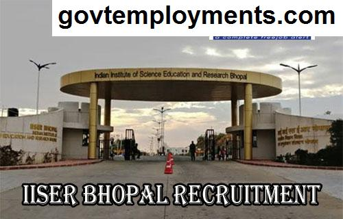 IISER Bhopal Recruitment 2020, Apply 81 JE, Office Assistant & Other Vacancies @ www.iiserb.ac.in