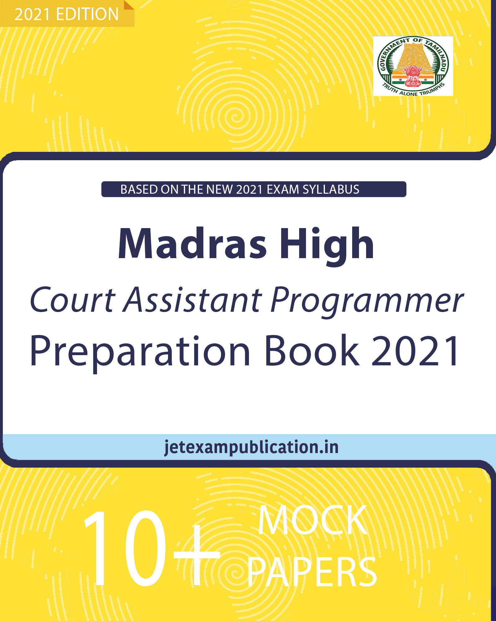 Madras High Court Assistant Programmer Preparation Book 2021